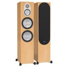 MONITOR AUDIO SILVER 500 Natural Oak grīdas tipa akustiskā sistēma (cena par pāri)