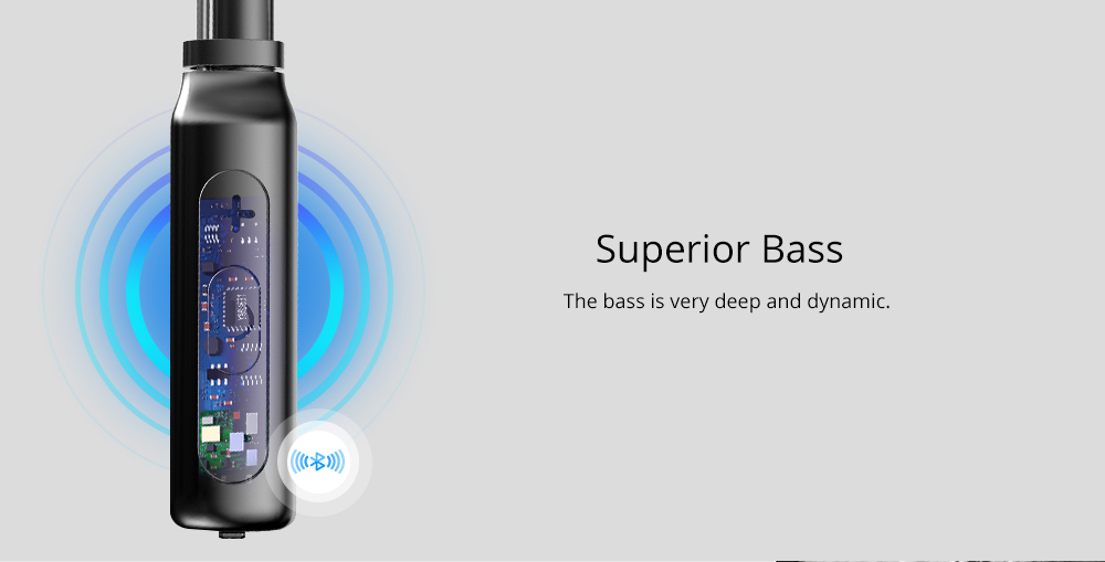 TRONSMART ENCORE S2 Black Bezvadu Bluetooth® Sport austiņas