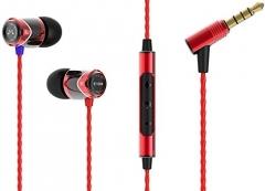 SoundMagic E10M Black/Red In-Ear tipa austiņas