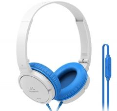 SoundMagic P11S Blue/White Over-Ear tipa austiņas