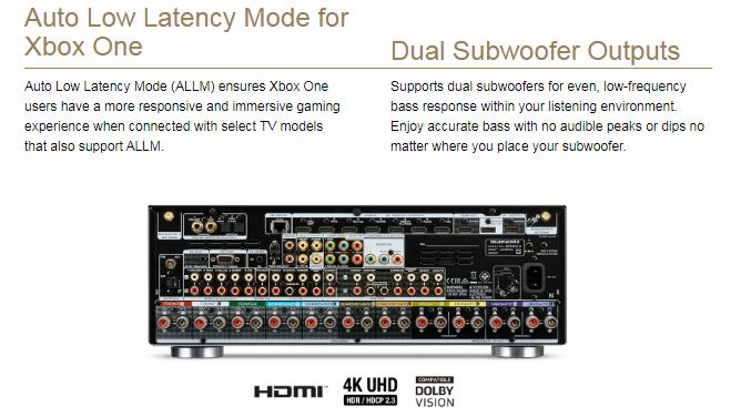 MARANTZ SR-6014 Silver/Gold 9.2CH 4k Ultra HD AV Resīveris, HEOS Built-in