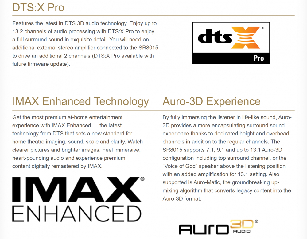 MARANTZ SR-8015 Black 11.2 kanālu 8K AV pastiprinātājs / 3D Sound / HEOS Built-in