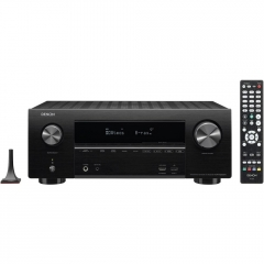 DENON AVR-X2500H 7.2 4K AV Receiver with Amazon Alexa Voice Control