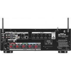 DENON AVR-S650H 5.2 kanālu 4K AV resīveris ar balss vadību