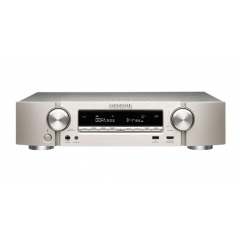 MARANTZ NR-1609 Silver/Gold Slim 7.2 Channel AV Receiver with HEOS
