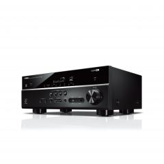 YAMAHA RX-V385 Black Bluetooth® compatible 5.1-channel AV receiver