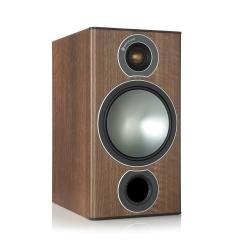 MONITOR AUDIO BRONZE 2 Walnut 2-joslu plaukta tipa akustiskā sistēma (cena par pāri)
