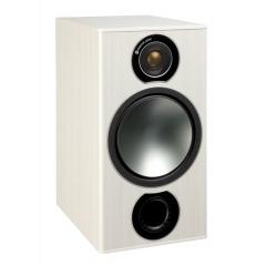 MONITOR AUDIO BRONZE 2 White Ash 2-joslu plaukta tipa akustiskā sistēma (cena par pāri)