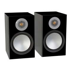 MONITOR AUDIO SILVER 100 High Gloss Black plaukta tipa akustiskā sistēma (cena par gab.)