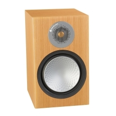 MONITOR AUDIO SILVER 100 Natural Oak plaukta tipa akustiskā sistēma (cena par pāri)