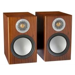 MONITOR AUDIO SILVER 50 Walnut plaukta tipa akustiskā sistēma (cena par pāri)