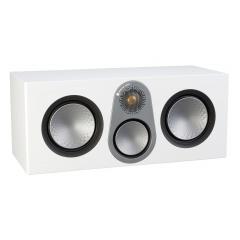 MONITOR AUDIO SILVER C350 Satin White centrālā kanāla akustiskā sistēma (cena par gab.)