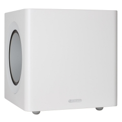 MONITOR AUDIO RADIUS 380 High Gloss White subvufers (cena par gab.)