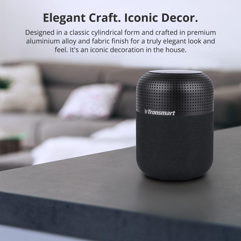 TRONSMART ELEMENT T6 Max Black Bluetooth skaļrunis