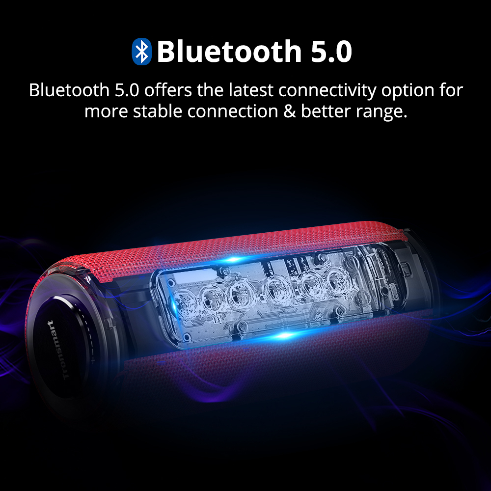 TRONSMART ELEMENT T6 PLUS Red Bluetooth® bezvadu skaļrunis