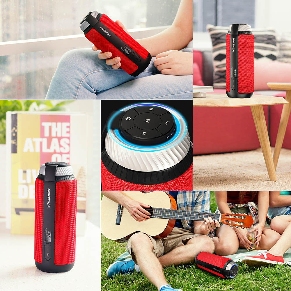 TRONSMART ELEMENT T6 Red Bezvadu Bluetooth® skaļrunis