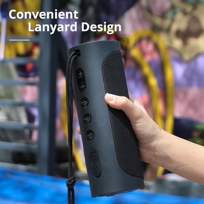 TRONSMART T6 PRO Black Bluetooth bezvadu skaļrunis