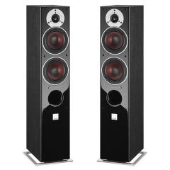DALI ZENSOR 5 AX Black Ash Vinyl Grīdas tipa aktīvā akustiskā sistēma (cena par komplektu)