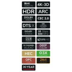 OEHLBACH Art. No. 52465 Black Magic HDMI Cable w. Eth. 3,2m