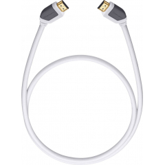 OEHLBACH Art. No. 52575 Shape Magic-HS HDMI Cable 5,1m White