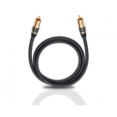 OEHLBACH Art. No. 21540 NF SUB SUBWOOFER RCA PHONO CABLE Black 10m
