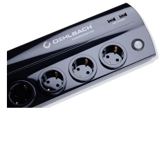 OEHLBACH Art. No. 17020 POWERSOCKET 905 HIGH-QUALITY MULTI-SOCKET OUTLET Black