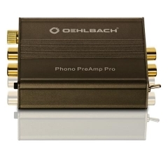OEHLBACH Art. No. 6060 PHONO PREAMP PRO LOW-DISTORTION PHONO AMPLIFIER FOR RECORD PLAYERS WITH MM OR MC PICKUP